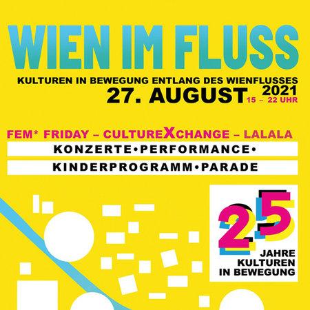 Wien im Fluss Plakat 2021